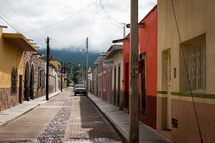 Mezquitic ein kleines Dorf mit vielen indigenen Leuten