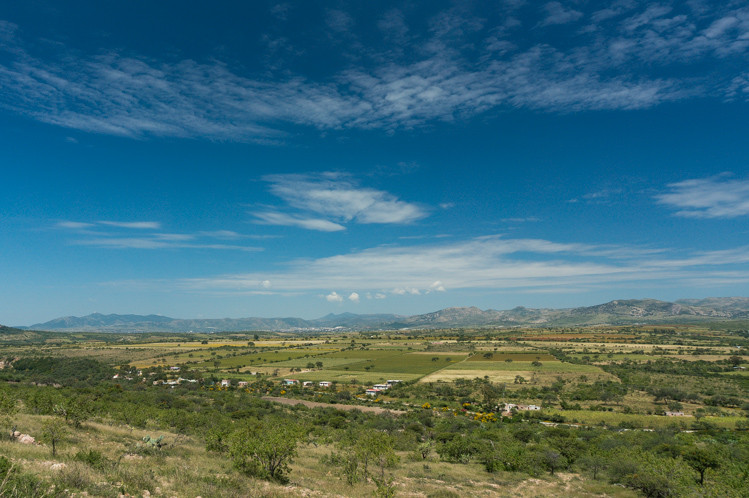 Blick zurück Richtung Guanajuato