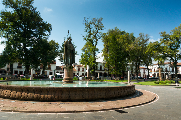 Plaza in Pátzcuaro
