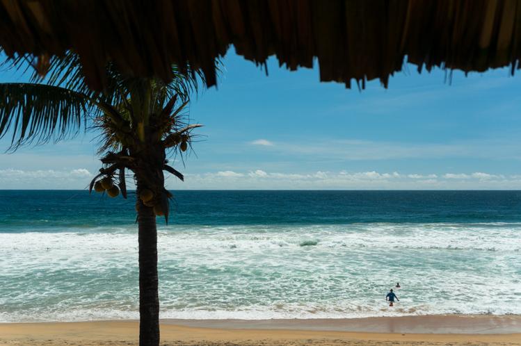 Der Pazifik, Ausblick von meiner Hütte