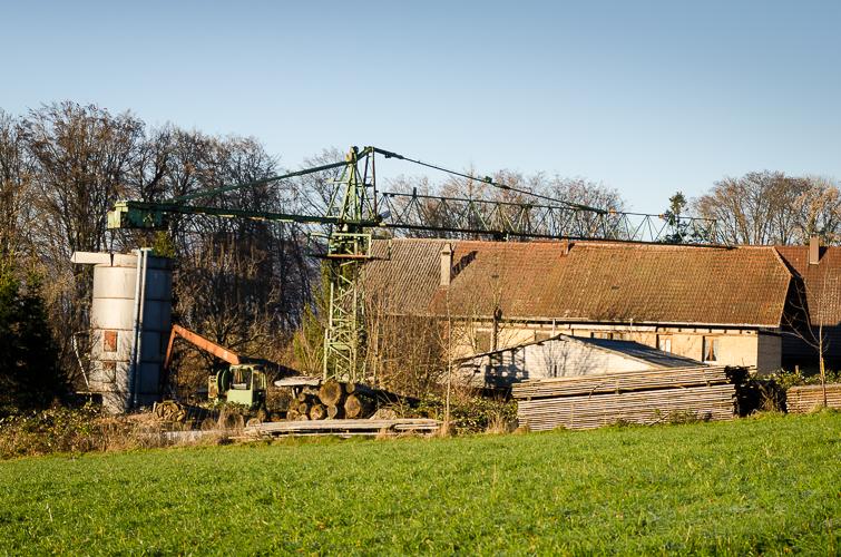 Industriegebiet in Kölliken, AG